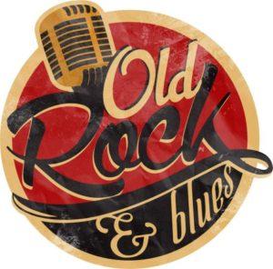 kolekcja z muzyką rock and blues na płytach i kasetach