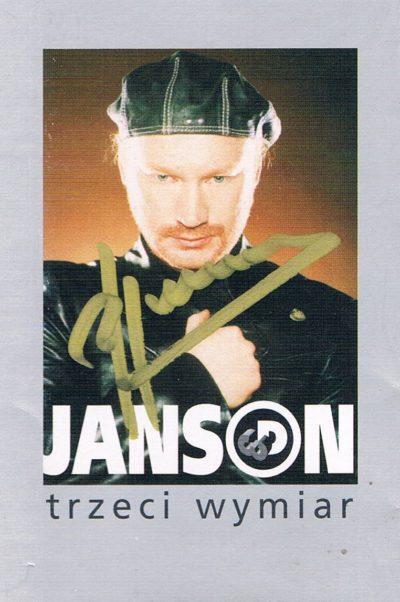 Robert Janson - Trzeci Wymiar
