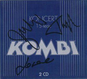 Autografy zespołu Kombi