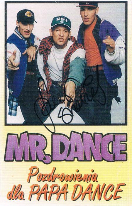 Mr. Dance - Pozdrowienia dla Papa Dance